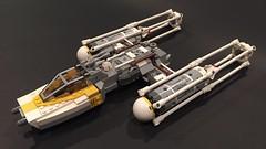 BTL-A4 Y-wing starfighter (njgiants73) Tags: new hope star back force lego luke return empire jedi wars strikes skywalker moc awakens ywing
