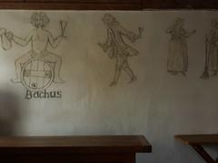 Fortress Louisbourg Nova Scotia tavern drawing (MisterQque) Tags: novascotia fortresslouisbourg frenchcolony