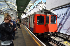 London Underground D78 Stock (prahatravel) Tags: london underground rolling stock d78 district line station tube metro england subway tbanen publick transportation