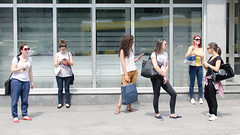 178/365 (goran1101) Tags: street city girls people bus station 35mm nikon candid stop nikkor d5100