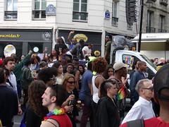 Char Paris Black Pride (Jeanne Menjoulet) Tags: marchedesfiertés lgbt paris 2juillet2016 lesbiangaypride gay lesbiennes bi trans gaypride pride blackpride lbgt