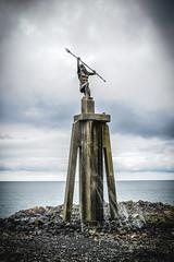 Spirit Of The  Sea Devonport (paulledger81) Tags: devonport tasmania spiritofthesea statue river sculpture trident merseyriver