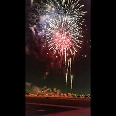 Celebrating the 4th of July on the 3rd. #kaboomtown #kaboom #addisontx  #fireworks #texas #4ofjuly (Alison Chains) Tags: kaboomtown kaboom addisontx fireworks texas