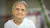 Nilam Ben Parikh, Gandhiji's Great Grand Daughter (Neha & Chittaranjan Desai) Tags: portrait india ben gandhi hari gujarat bhai mohandas parikh gandhiji nilam navsari gandhian karamachand