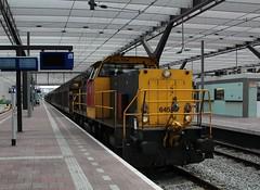 DBC 6455 + Electrolux te Rotterdam CS (erwin66101) Tags: ns dbc deutsche bahn cargo schenker deutschebahn locomotief diesellocomotief diesel goederentrein gouda electrolux trein goederen alphen aan den rijn station rotterdamcentraal rotterdamcs rotterdam cs centraal