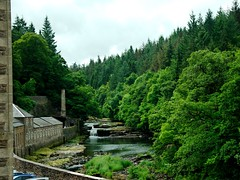 Falls of Clyde: Dundaff Linn (alanGmedia) Tags: river landscape scotland clyde waterfall scenery riv