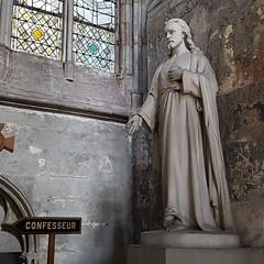 < CONFESSEUR - Kathedraal van Rouen (M@rkec) Tags: rouen rouaan rowaan normandi normandie hautenormandie france frankrijk f cathdrale vtbkultuurmechelen dag5 19072016 seinemaritime