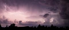 Lightning 01 (michael.mckennedy) Tags: lightning light electric power sky clouds purple treeline vermont vt