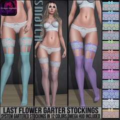 Sn@tch Last Flower Garter Stockings Vendor Ad LG (Tess-Ivey Deschanel) Tags: sntch snatch secondlife sl second sexy style specials new newrelease newreleases summer costumes latex lingerie clothing clothes clubwear cyberpunk corset couture fashion fatpack fall mesh model meshclothing meshclothes models iveydeschanel ivey ihearts omegasystem outfits omega omegaappliers