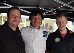 Jean-Christophe Novelli with The Outdoor Pig Company