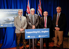 100% of angling licence revenue to benefit anglers (BC Gov Photos) Tags: fish economy licence revenue fisheries billbennett stevethomson freshwaterfisheriessocietyofbc freshwaterfisheries