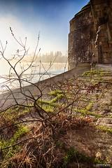 Pont Wilson - #2 (DENISDROUAULT) Tags: sunset wild sky france sunrise canon river de french eos la soleil mark iii valley 5d tours loire paysages hdr denis lever fleuve the sauvage touraine jimages vallée borderfx drouault