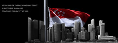 Lee Kuan Yew (1923-2015) (willfire) Tags: singapore flag half mast leekuanyew willfire