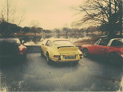 Lakeview (mvde27) Tags: light red orange yellow 1974 1987 911 turbo guards signal rs 1973 116 027 930 carrera 117 targa diecast 33l 27l