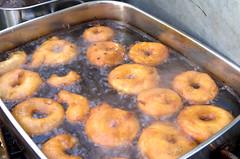 Apple Fritters (Twitter: @DriedgerDan) Tags: apple festival maple elmira deep floating syrup fried mennonite batter fritters