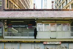 Madison/Wabash: Final Days (Zolk) Tags: chicago illinois cta unitedstates loop transit elevated stations chicagotransitauthority madisonwabash