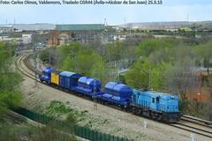 Traslado por Valdemoro (C.Olmos) Tags: de san juan rail alcazar avila 313 alco traslado traccion herbicida azvi