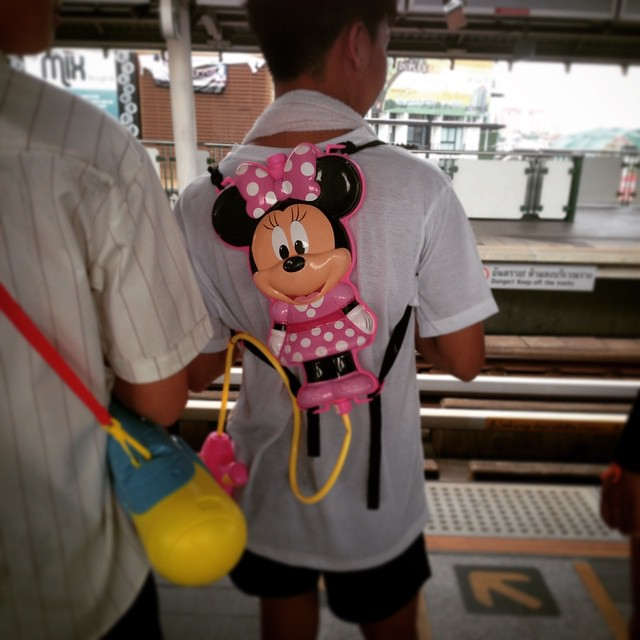 #songkran backpack