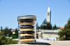 Pacific Cookie Company (jocelynnhsu) Tags: california roof cookies berkeley nikon view bokeh campanile masonjar ledge 365 uc snickerdoodle project365 21365 drmidnight pacificcookiecompany d7000