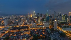 Another View... (frahmanz) Tags: city travel light architecture night buildings landscape timelapse nikon scenery asia cityscape tl centre aerial malaysia kualalumpur malaysian klcc bluehours nikond90 nikonmalaysia