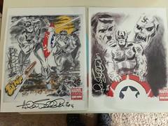 "Allen Bellman / Captain America Artwork • <a style=""font-size:0.8em;"" href=""http://www.flickr.com/photos/28558260@N04/26487538083/"" target=""_blank"">View on Flickr</a>"