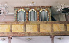St. Bartholomus, Eussenhausen, Orgel (palladio1580) Tags: bayern kirche organ organo franken orgel orgue unterfranken landkreisrhngrabfeld eusenhausen