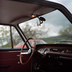 Gyuri's Lancia (Laszlo_Gerencser) Tags: classic 120 film car rollei analog zeiss austria cm mc 200 karl oldtimer medium format analogue asa 88 kiev fulvia wachau lancia arax 2880 biometar weissenkirchen digibase