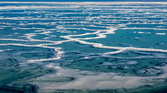 salty veins (ToDoe) Tags: deathsea totesmeer salz salt salzkristalle salzvenen salzigevenen türkis water salzwasser meer israel salzigeadern salzadern adern venen vains structure struktur blue blu