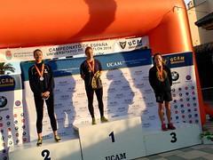 Ana Mariblanca gana el campeonato españa triatlon universitario 15