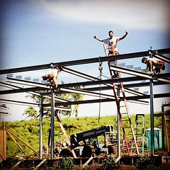 The #last #beam. Sweet #victory over... (AndersonAndersonArchitecture) Tags: architecture last steel victory structure beam satisfaction uploaded:by=flickstagram instagram:photo=10842221205450453601287363409 instagram:venuename=thebigisland2chawaii instagram:venue=261220259