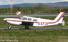 G-ATJV  PA32 Glasgow April 2016 (pmccann54) Tags: piper32 gatjv
