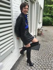 IMG_5310 (valkex1) Tags: leather boots skirt mature arollo