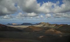 The Badlands (Preston Ashton) Tags: clouds landscape volcano desert cloudy vulcan badlands desolate volcanic badland thebadlands