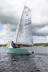 Sailing boat on Llangorse Lake 2 (Claire Young) Tags: water wales spring may sailingboat 2016 llangorselake