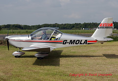 G-MOLA (David Unsworth (davidu)) Tags: gmola cosmikaviation ev97 teameurostar microlight eurostar castlekennedy daviduair aviation aircraft davidunsworth flyin airplane lightaircraft lightaviation