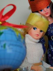 Sindy's Christmas Day - 27 (misssindy) Tags: christmas doll dolls marx 16 gayle diorama pedigree sindy