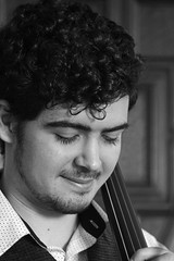 Wallace # 91 of my 100 strangers series (Finding Chris) Tags: musician castle student northumberland cello wallace studying greathall bamburghcastle 100strangers