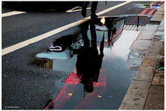 Reflection 4. (sdupimages) Tags: street uk greatbritain reflection london londres rue reflexion reflets lumieres instantane