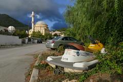 P1030504 - Parking (JB Fotofan) Tags: street turkey lumix trkiye streetphotography trkei moschee zdere fz1000 dmcfz1000