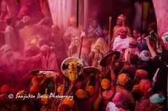 Barsana Nandgaon Lathmar Holi Low res (45 of 136) (Sanjukta Basu) Tags: holi festivalofcolour india lathmarholi barsana nandgaon radhakrishna colours