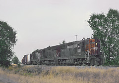 Southern Pacific 4355 in Ukiah, CA -- 5 Photos (railfan 44) Tags: southernpacific