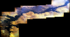 Lake Nasser (sjrankin) Tags: africa panorama lake desert edited egypt large nasa aswan iss saharadesert nileriver iss047 23june2016 iss047e143338iss047e143348 2128mb
