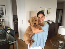 Liesel & Nolan's Kona loves his new family!
