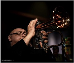 "(""SnapDecisions"" photography) Tags: arizona music nikon tucson jazz d750 horn pastiche facebook flugelhorn dmitrimatheny hirschfeld"