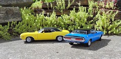 1970 Dodge Challenger R/T Hardtops (JCarnutz) Tags: dodge 1970 rt challenger diecast 124scale danburymint acmetradingcompany