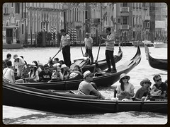 tourism (gerben more) Tags: venice people italy tourism water canal tourist touristattraction gondolier gondol veneti