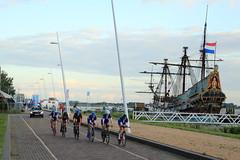 Wielrennen Lelystad