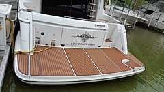 2000 57' Carver Sedan Bridge (SC Wake) Tags: black sedan boat mocha boating carver grip teak nonslip nonskid seadek customseadek boatdecking scwake