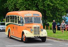 KEL 94. (curly42) Tags: bus transport vintagebus roadtransport bedfordob shamrockrambler kel94 altonbusrally2016