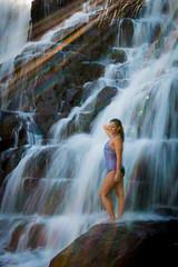 20160625-Sun Falls --21 (napaeye) Tags: lake tahoe napaeye laketahoe waterfalls fallenleaflake lillylake california ca women hairflip